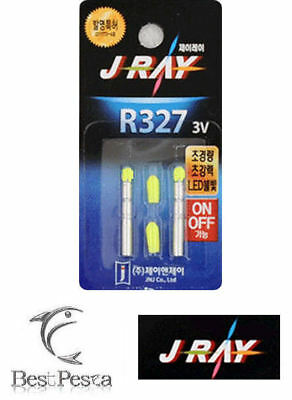J-RAY - STARLIGHT A LED R327 - Ø3,0mm - GIALLO - blister 2pz