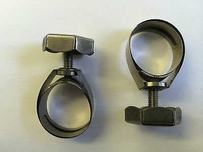 UNEX HOSE CLIP 25mm W4 HEX HEAD