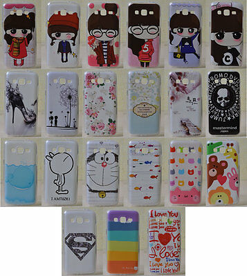 For Samsung Galaxy Win Pro G3812 Soft TPU Girl Flower Love High Heel Case Cover