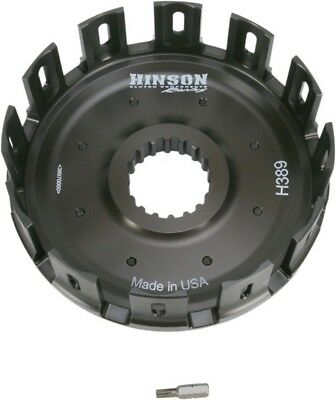 Hinson Racing Billet Clutch Basket with Cushions H389 26-9847 1132-0363 151-0017