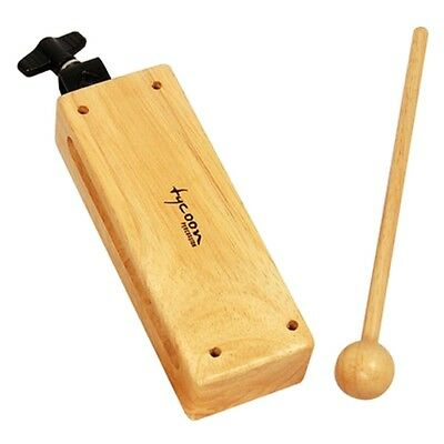 Tycoon Percussion TDB-L Large Mountable Wood Block with Block Beater