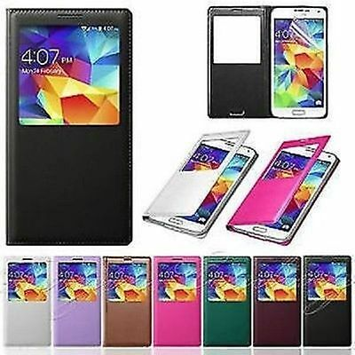 Flip S-View Leather Smart Case Cover SAMSUNG GALAXY NOTE 3 NEO N7502 N7505