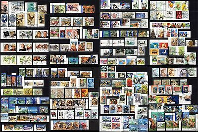 Australia & Territories Superb Modern Collection 300 Different Stamps, CTO