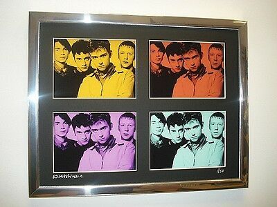 Blur Ltd Edition Signed Pop Art Canvas