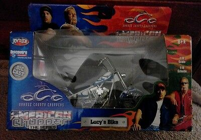 New in Box Orange County Choppers Lucy's Bike 1:18 Scale