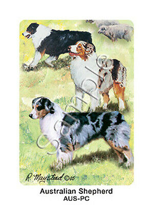 Ruth Maystead Dog Playing Cards Australian Shepherd Deck Pack Poker