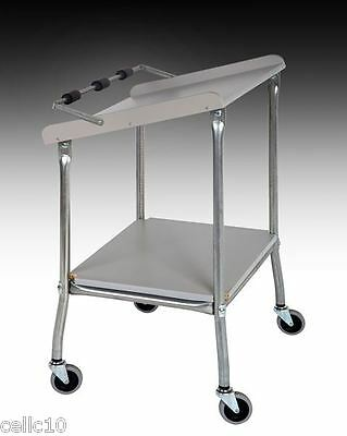 High Quality Mobile Instrument Cart w/ Plastic Laminate Top - USA Made  EZ 45-8G