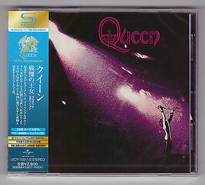 Queen ,  Queen  ( Remastered, Limited Edition, 2-SHM-CD )