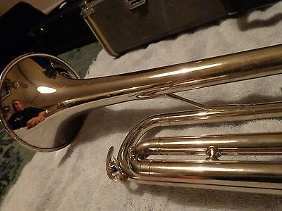 """Vintage Yamaha YTR-135 Trumpet in """"Bright Plate"""" Finish"""