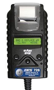 Electronic Specialties Digital Start/Stop Battery & System Tester + Printer #726