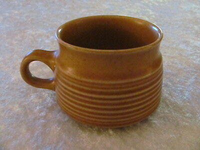 Denby Langley China Pottery Stoneware Oak Apple Coffee Cup - England
