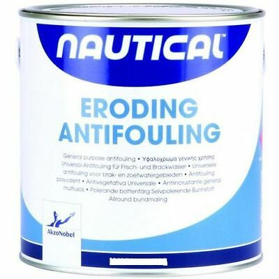 "0,750 Litri Antivegetativa Autolevigante ""Nautical"" Col. Nero Akzo Nobel"