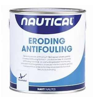 "0,750 Litri Antivegetativa Autolevigante ""Nautical"" Col. Blu Akzo Nobel"