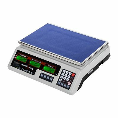 PRICE SCALES 35kg / 2g - DIGITAL INDUSTRIAL COMPUTING ELECTRONIC WEIGH SCALE NEW