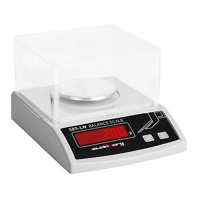 PRECISION SCALE - 200g / 0 001g LABORATORY DIGITAL ELECTRONIC WEIGHING BALANCE