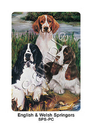 Ruth Maystead Dog Playing Cards Deck Pack English & Welsh Springer Spaniel