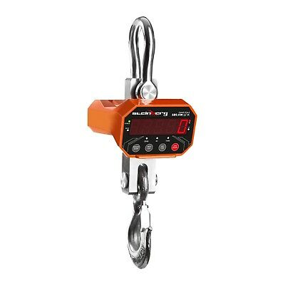 CRANE SCALE 3000kg / 1kg - WEIGHING DIGITAL INDUSTRIAL HANGING PORTABLE SCALES
