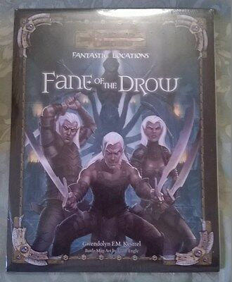 Gioco di Ruolo GDR Inglese D&D Fantastic Locations: Fane of the Drow