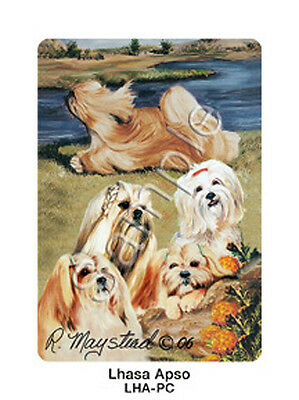Ruth Maystead Dog Playing Cards Deck Pack Lhasa Apso NEW