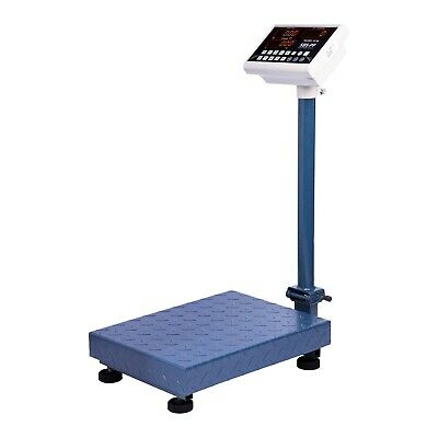 PLATFORM SCALE 100kg / 10g - DIGITAL HEAVY DUTY WEIGHING PALLET FOLDABLE SCALES