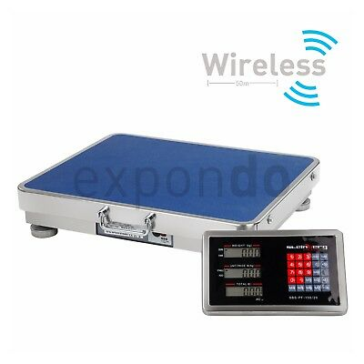 PLATFORM SCALE 150kg/ 20g - DIGITAL HEAVY DUTY ELECTRONIC WEIGHING PALLET SCALES