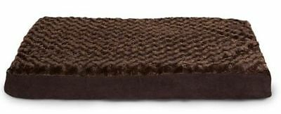 NEW AspenPet Brown Orthopedic Pet/Dog Bed 27x36x3 Polyurethane Foam