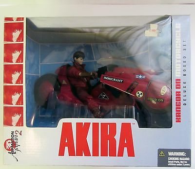 2001 McFarlane Akira Kaneda on Motorcycle Deluxe Boxed Set NIB