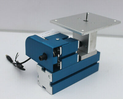 Mini Metal Jigsaw Motorized Metalworking DIY Tool Machine for Hobby Modelmaking
