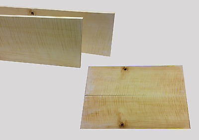 GUITAR BOOKMATCHED TOP FLAMED/CURLY MAPLE 4a