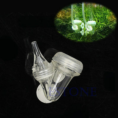 Aquarium 3 in 1 V Shape Bubble Counter Check Valve CO2 System Diffuser NEW