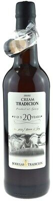 Jerez Cream Tradicion VOS 20 Years 0,75l - Sherry
