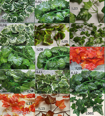 Best Artificial 7ft 210cm IVY Trailing GARLANDS Vine String Plant wedding new