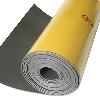 "Noico Liner 37 sqft 1/6"" heat insulation sound deadener + Dynamat Dynaliner smpl"