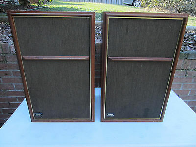 VINTAGE PAIR WHARFEDALE W60E SPEAKERS EXCELLENT CONDITION