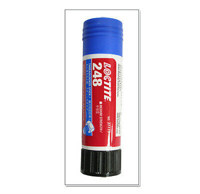 Brand Loctite 248 Medium Strength Blue Threadlocker Stick Threadlocker 19 grams