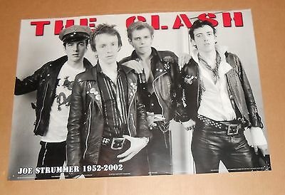 The Clash Joe Strummer 1952-2002 Poster 34x24