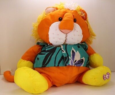 Vintage Fisher Price PUFFALUMP LION Wild Things plush stuffed animal nylon 12""
