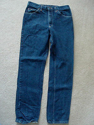 "Ladies LEE RN 34783 JEANS SIZE 12 Riveted Denim 33""x32"" Boot Cut"