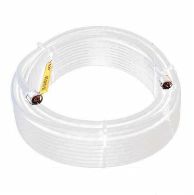 Wislon 952400 100' White WILSON400 Ultra Low Loss Coax Cable 952400