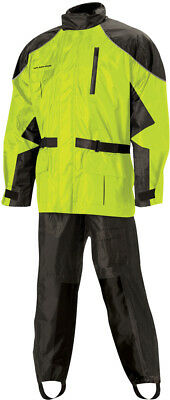 Nelson-Rigg Hi-Visibility Yellow AS-3000 Aston Rain Suit - AS3000HVY03LG ( L )
