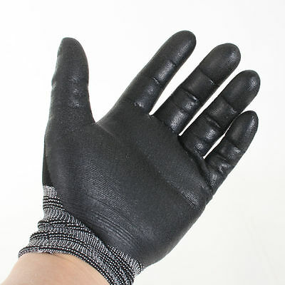 NEW Nitrile Foam Coating Advanced 3M Gloves Work Comfort grip Electrical wiring