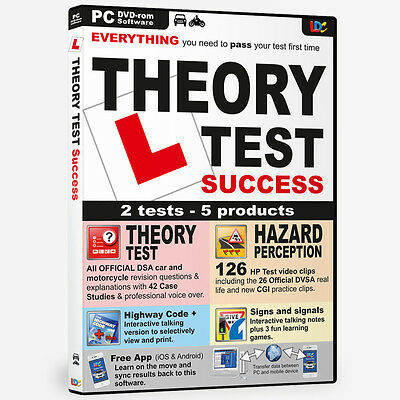 Driving Theory Test Success Hazard Perception Pc Dvd Rom New 2016 Edition