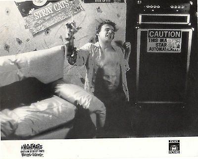 A NIGHTMARE ON ELM STREET PART 2(1985) Two original lobby cards