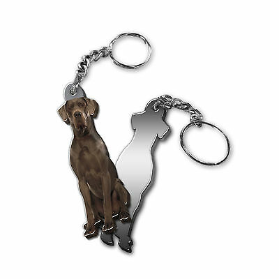 Got Yo Gifts Mirrored Acrylic Keyring Keychain NEW Great Dane