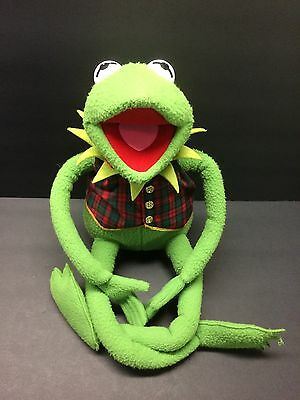 "Large Eden Jim Henson Muppets Kermit The Frog 24"" Plush Christmas Toy Doll"