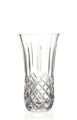 RCR Italian Crystal Opera Vase Perfect 4 Flowers 14cm Wide Mouth Great Gift