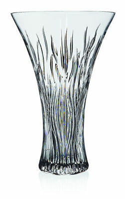 RCR Italian Crystal Fire Vaso Vase 30cm High Tall Present Flowers Great Gift