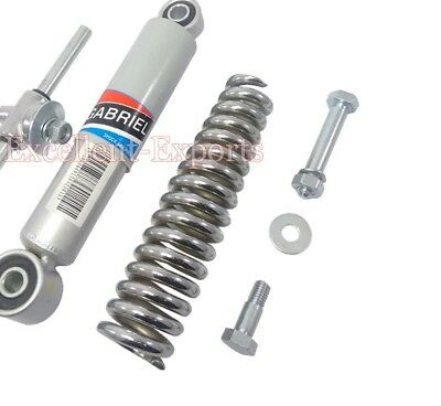 VESPA FRONT SUSPENSION SHOCK ABSORBER WITH SPRING AND TRUNION VBB 8 Inches V1170