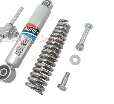 Vespa VBB 8 Inches Front Suspension Shock Absorber Spring and Trunion V1170