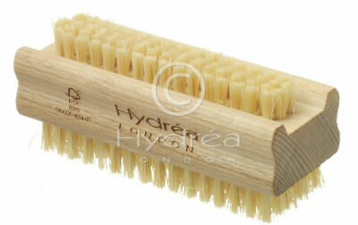 Hydrea Extra Tough Wooden Nail Brush With Firm Cactus Bristles